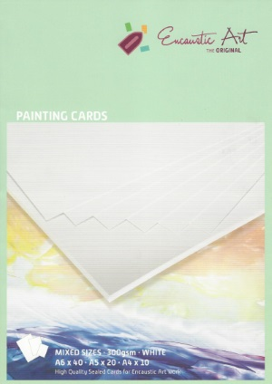 Encaustic Card